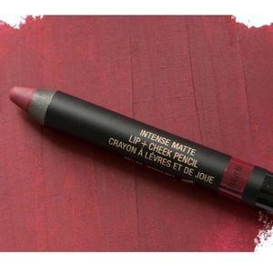 Nudestix Matte Lip & Cheek Pencil Raven Red Plum